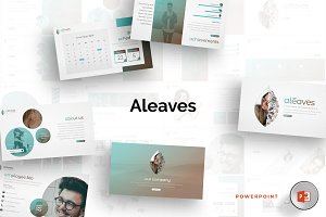 Aleaves - Powerpoint Template