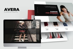 Avera : Minimal Fashion Powerpoint
