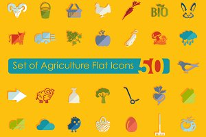 50 AGRICULTURE icons