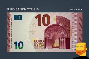 Euro Banknote €10 (Vector)