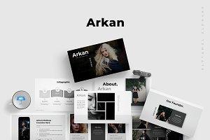 Arkan - Keynote Template