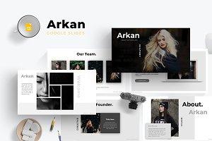 Arkan - Google Slides Template