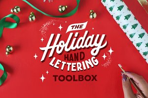 The Holiday Hand Lettering TOOLBOX