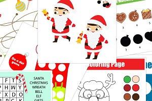 Christmas New Year kids activities