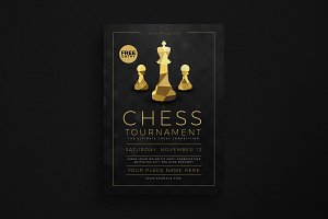 Chess Tournament Event Flyer