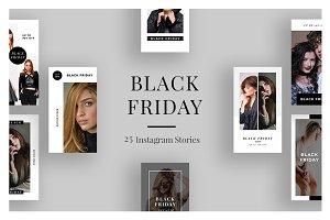 25 Black Friday Instagram Stories V3