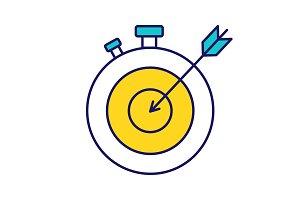 Smart goal color icon