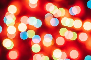 Christmas background with colourful