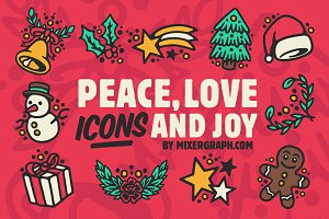 Peace, Love, Icons & Joy