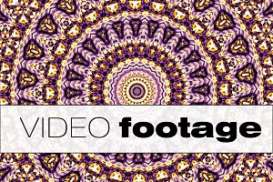 Looping footage Mandala.