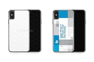 iPhone X 2d PC Clear Mobile Case