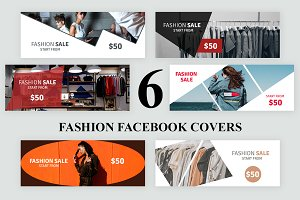 6 Fashion Facebook Covers