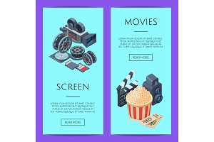 Vector cinematograph isometric web