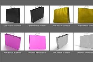 3D illustrations of shopping bag.