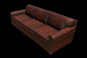 Classic Leather Sofa