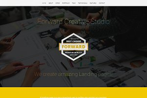 Forward Landing Page Template (HTML)