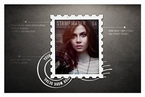 Easy Stamp Maker (Mockup)