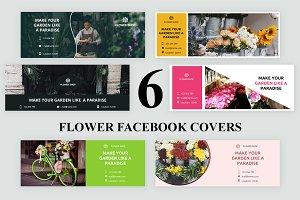 Flower Facebook Covers - SK