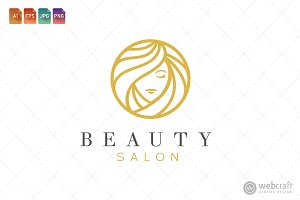 Beauty Dermatology Logo Template 18