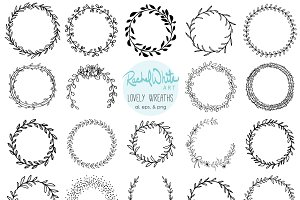 Lovely Wreaths, Vector