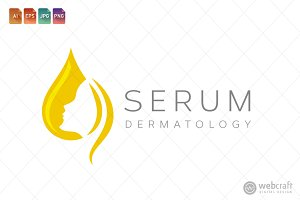 Beauty Dermatology Logo Template 19