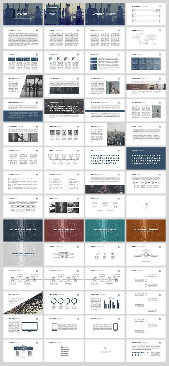 Venture business presentation presentation templates creative venture business presentation presentation templates creative market friedricerecipe Image collections