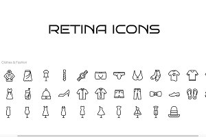 34 Clothing Icons for iOS