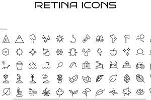 100 Nature, Animal, & Bug Icons