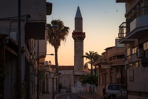 Old town of Limassol. Cyprus