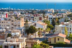 Paphos cityscape