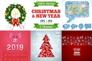 Christmas and New Year Themes