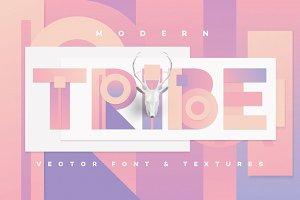 Modern Tribe vector font