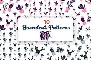Cactuses Patterns Part II