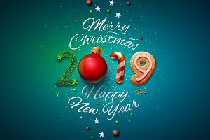 Merry Christmas&Happy New Year 2019