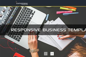 Enterprise responsive business Templ