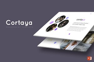 Cortaya -  Powerpoint Template