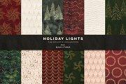 Holiday Lights: Digital Backgrounds