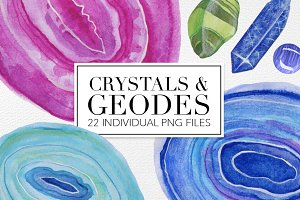 CRYSTALS AND GEODES Pack