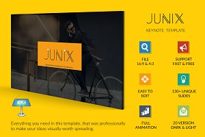 Junix Keynote Presentation Template