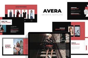 Avera : Minimal Fashion Keynote