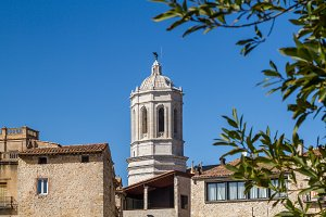 Bell tower of Cathedral of Girona