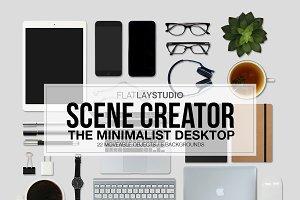 MOCKUP SCENE CREATOR - MINIMALIST