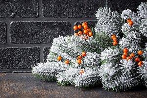 Christmas or New year festive