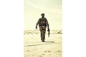 Army infantryman soldier
