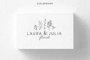 Florist Business Card~2 Colours