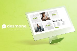 Desmone - Powerpoint  Template