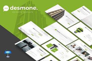 Desmone - Keynote  Template