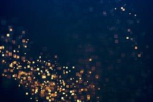 Glitter lights background
