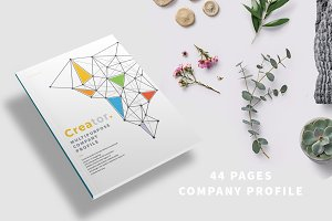44 Pages Company Profile