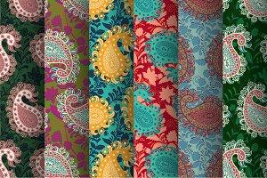 6 Vintage Paisley Patterns